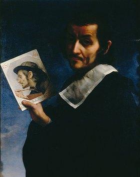 Carlo Dolci: Selbstbildnis