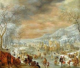 Jan II. Griffier: Winter