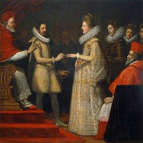 Chimenti Jacopo Empoli: Die Hochzeit der Maria de'Medici