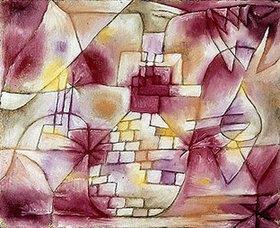 Paul Klee: Plan einer Garten-Architektur