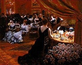 Giuseppe de Nittis: Im Salon der Prinzessin Matilde