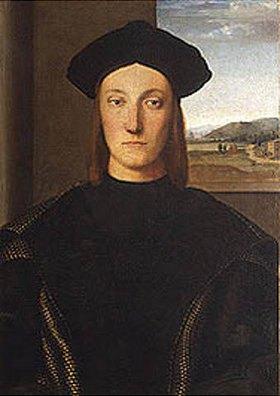 Raffael (Raffaello Sanzio): Bildnis des Guidobaldo da Montefeltro