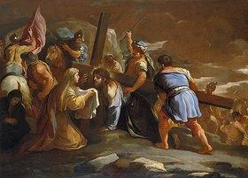 Luca (Fa Presto) Giordano: Die Kreuztragung Christi