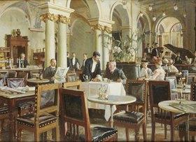 Frants Henningsen: Ein Café in Kopenhagen