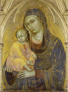 Barnaba da Modena: Madonna mit Kind