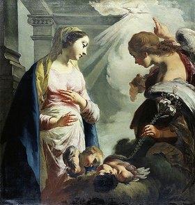 Francesco (Il Daggiu) Capella: Verkündigung Mariae