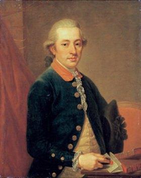 Johann Wilhelm Hofnaas: Bildnis Carl Justinian von Holzhausen