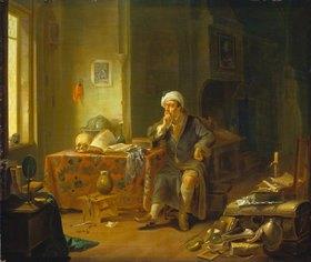 Justus Juncker: Ein Gelehrter in seinem Studierzimmer
