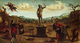 Piero di Cosimo: Darstellung aus der Prometheus-Sage