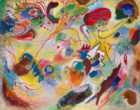Wassily Kandinsky: Studie zu Komposition VII, (Jüngstes Gericht)