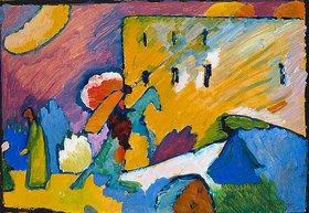 Wassily Kandinsky: Reiter über der Brücke (Improvisation III.?)