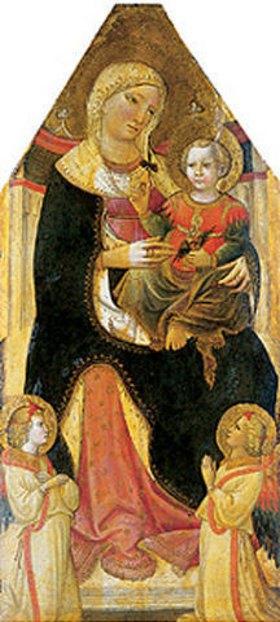 Giovanni dal Ponte: Thronende Madonna mit Kind (um 1500)