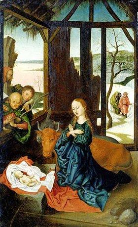 Meister BM (Schongauer Nachfolge): Die Geburt Christi