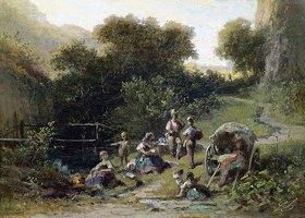 Carl Spitzweg: Zigeunerlager