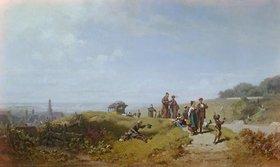 Carl Spitzweg: Der Sonntagsspaziergang (oder: Osterspaziergang)