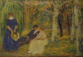 Karel Spillar: Gespräch im Wald