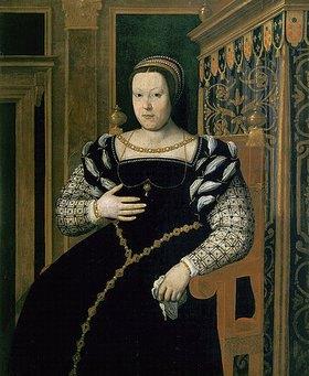 Santi di Tito: Bildnis der Katharine de'Medici