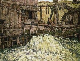 Egon Schiele: Die Mühle