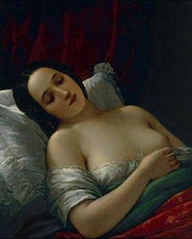 Natale Schiavoni: Schlafende Frau