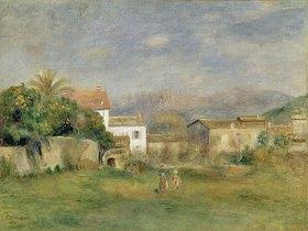 Auguste Renoir: Vue de Cagnes
