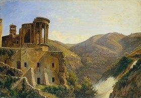 Carl Morgenstern: Der Tempel der Sibylle oder der Vesta in Tivoli