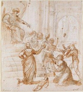 Girolamo Romanino: Das Urteil Salomos