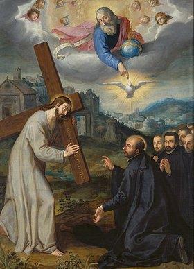Süddeutsch: Die Vision des heiligen Ignatius bei La Storta