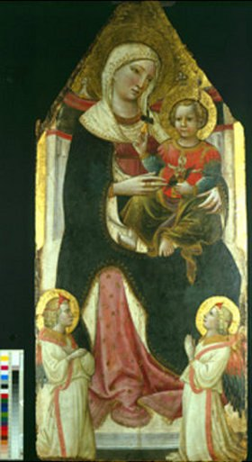 Giovanni dal Ponte: Thronende Madonna mit Kind