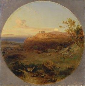 Carl Rottmann: Griechische Landschaft auf der Insel Aegin