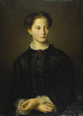 Otto Franz Scholderer: Schwester Ida Scholderer, Bildnis