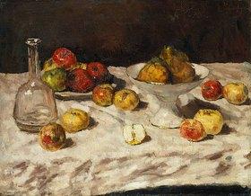 Carl Schuch: Apfelstillleben