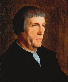 Jan van Scorel: Männliches Bildnis, angeblich des Quinten Massys