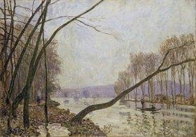 Alfred Sisley: Seine-Ufer im Herbst