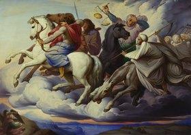Eduard Jakob von Steinle: Die apokalyptischen Reiter