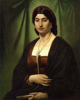 Anselm Feuerbach: Bildnis einer Römerin (Nanna)