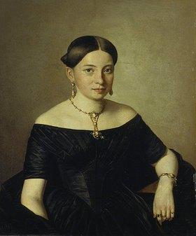 Ferdinand Georg Waldmüller: Gräfin Dimitri Tatischeff, Bildnis