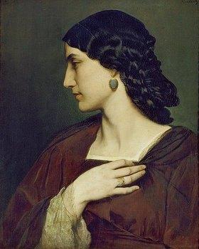 Anselm Feuerbach: Bildnis der Nanna Risi