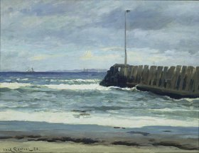 Carl Locher: Am Strand