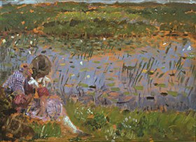Laurits Tuxen: Am Teich