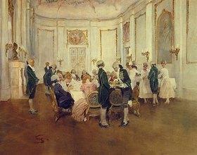 Wilhelm Schreuer: Feine Abendgesellschaft
