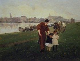 Wilhelm Schreuer: Am Rhein