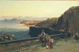 Carl Wuttke: Posillipo. Golf von Neapel
