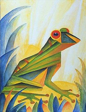 Annette Bartusch-Goger: Frosch