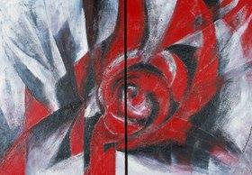 Annette Bartusch-Goger: Konfrontation. 2003. Diptychon