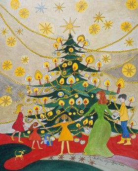 Annette Bartusch-Goger: Weihnachten unter dem Christba