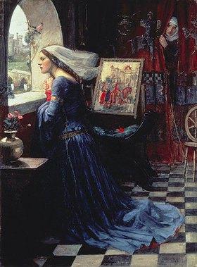 John William Waterhouse: Fair Rosamund