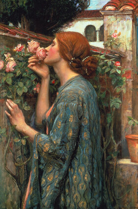 John William Waterhouse: Die Seele der Rose