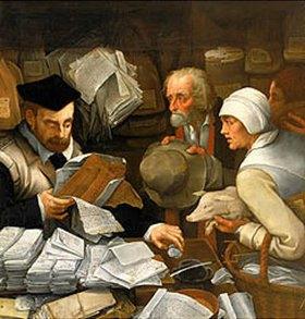 Peter I. de Vos: Der Steuereinnehmer