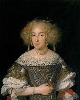 Jakob Ferdinand Voet: Bildnis der Isabella Del Sera