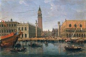 Gaspar Adriaens van Wittel: Blick zum Markus-Platz, Venedig